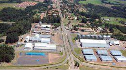 Vista aerea cooperativa holambra brazil agro agriculture agricultura brasil coop
